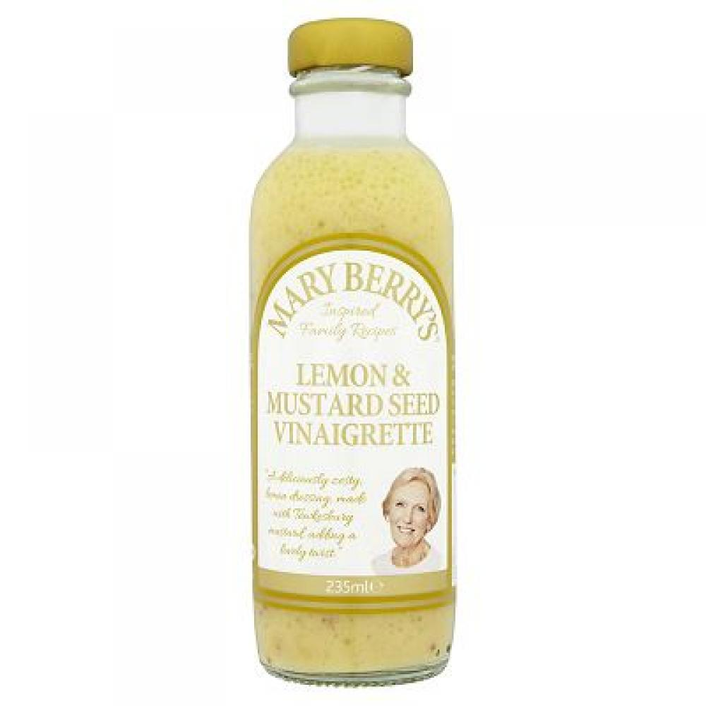 Mary Berrys Lemon and Mustard Seed Vinaigrette 235ml